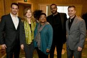 (L-R) Editor Spencer Averick, writer Robin Swicord, writer Attica Locke, composer Kris Bowers, and digital colorist Mitch Paulson attend the 20th Annual AFI Awards at Four Seasons Hotel Los Angeles at Beverly Hills on January 03, 2020 in Los Angeles, California.