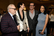(L-R) Actor Brian Cox, actor-producer Phoebe Waller-Bridge, actor Jon Hamm, and actor Sian Clifford attend the 20th Annual AFI Awards at Four Seasons Hotel Los Angeles at Beverly Hills on January 03, 2020 in Los Angeles, California.