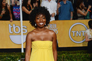 Actress Adepero Oduye attends the 20th Annual Screen Actors Guild Awards at The Shrine Auditorium on January 18, 2014 in Los Angeles, California.
