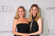 Actor June Diane Raphael (L) and Brooklyn Decker attend the Costume Designers Guild Awards at The Beverly Hilton Hotel on February 20, 2018 in Beverly Hills, California.