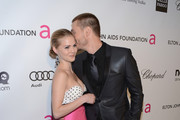 Actors Kenzie Dalton (L) and Chad Michael Murray  attend the 21st Annual Elton John AIDS Foundation Academy Awards Viewing Party at Pacific Design Center on February 24, 2013 in West Hollywood, California.