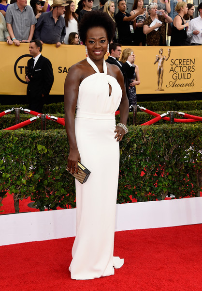 Actress Viola Davis attends the 21st Annual Screen Actors Guild Awards at The Shrine Auditorium on January 25, 2015 in Los Angeles, California.