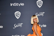 Laverne Cox attends the 21st Annual Warner Bros. And InStyle Golden Globe After Party at The Beverly Hilton Hotel on January 05, 2020 in Beverly Hills, California.