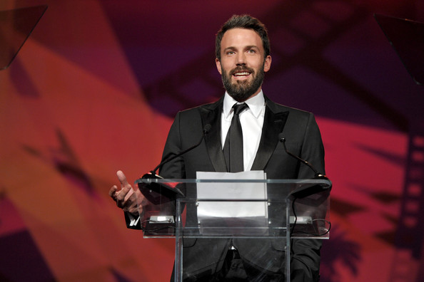 Actor Ben Affleck winner of the 2011 Chairman's Award speaks onstage  at the 22nd Annual Palm Springs International Film Festival Awards Gala at the Palm Springs Convention Center on January 8, 2011 in Palm Springs, California.