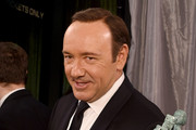"""Actor Kevin Spacey, winner of the award for Outstanding Performance by a Male Actor in a Drama Series for """"House of Cards,"""" poses backstage at the The 22nd Annual Screen Actors Guild Awards at The Shrine Auditorium on January 30, 2016 in Los Angeles, California. 25650_014"""