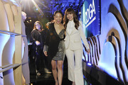 Constance Wu and Lorene Scafaria attend the 22nd CDGA (Costume Designers Guild Awards) at The Beverly Hilton Hotel on January 28, 2020 in Beverly Hills, California.