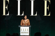 Director/producer Mira Nair speaks onstage during the 23rd Annual ELLE Women In Hollywood Awards at Four Seasons Hotel Los Angeles at Beverly Hills on October 24, 2016 in Los Angeles, California.