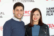 Screenwriter Michael Weber (L) and actress Bel Powley attend the Chairman's Reception during  Day 3 of the 23rd Annual Hamptons International Film Festival on October 10, 2015 in East Hampton, New York.