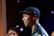 Pharrell Williams accepts the Hollywood Song Award onstage during the 23rd Annual Hollywood Film Awards at The Beverly Hilton Hotel on November 03, 2019 in Beverly Hills, California.