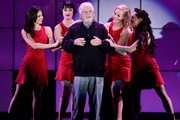 """Actor Robert Morse performs at the 23rd Annual """"A Night at Sardi's"""" to benefit the Alzheimer's Association at the Beverly Hilton Hotel on March 18, 2015 in Beverly Hills, California."""