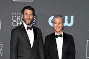 Andrew Form (L) and Brad Fuller attend the 24th annual Critics' Choice Awards at Barker Hangar on January 13, 2019 in Santa Monica, California.