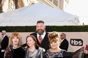(L-R) Actors Annie Golden, Dale Soules Brad William Henke, and Lin Tucci attends the 24th Annual Screen ActorsGuild Awards at The Shrine Auditorium on January 21, 2018 in Los Angeles, California.
