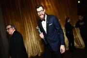 Actors Kevin Dunn (L) and Timothy Simons, co-winners of the Outstanding Performance by an Ensemble in a Comedy Series award for 'Veep,' attend the 24th Annual Screen Actors Guild Awards at The Shrine Auditorium on January 21, 2018 in Los Angeles, California. 27522_011