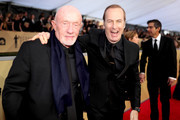 Actor Jonathan Banks (L) and Bob Odenkirk attend the 24th Annual Screen Actors Guild Awards at The Shrine Auditorium on January 21, 2018 in Los Angeles, California. 27522_010