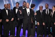 """Actor Matt Walsh (C) and the cast of """"Veep"""" onstage during the 24th Annual Screen ActorsGuild Awards at The Shrine Auditorium on January 21, 2018 in Los Angeles, California."""