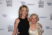Actors Melanie Griffith and Tippi Hedren arrive at the 24th Genesis Awards held at the Beverly Hilton Hotel on March 20, 2010 in Beverly Hills, California.