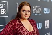 Lauren Ash attends the 25th Annual Critics' Choice Awards at Barker Hangar on January 12, 2020 in Santa Monica, California.