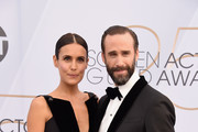 Maria Dolores Dieguez (L) and Joseph Fiennes attend the 25th Annual Screen ActorsGuild Awards at The Shrine Auditorium on January 27, 2019 in Los Angeles, California. 480645