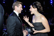 Allen Leech (L) and Sophia Bush attend the 25th Annual Screen ActorsGuild Awards at The Shrine Auditorium on January 27, 2019 in Los Angeles, California. 480720
