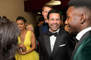 This Is Us cast (L-R) Susan Kelechi Watson, Justin Hartley, Jon Huertas, and Niles Fitch attend the 25th Annual Screen ActorsGuild Awards at The Shrine Auditorium on January 27, 2019 in Los Angeles, California. 480518