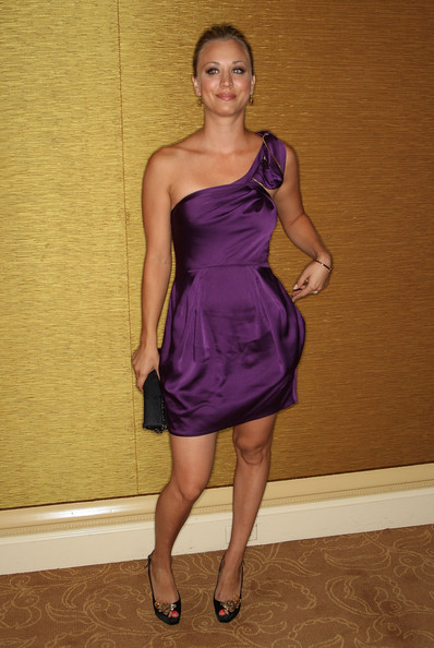 Actress Kaley Cuoco arrives at the PBS portion of the 2009 Summer Television Critics Association Press Tour held at the The Langham Huntington Hotel & Spa on July 30, 2009 in Pasadena, California.