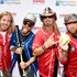 Bucky Covington Photos - Recording artist Bucky Covington (L) Chris Lucas (2 L) and Preston Brust (4R) of musical duo LoCash, and singer-songwriter Bret Michaels (3R) attend the 26th Annual City of Hope Celebrity Softball Game at First Tennessee Park on June 7, 2016 in Nashville, Tennessee. - Bucky Covington Photos - 3 of 243