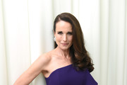 Andie MacDowell attends the 26th annual Elton John AIDS Foundation Academy Awards Viewing Party with cocktails by Clase Azul Tequila at The City of West Hollywood Park on March 4, 2018 in West Hollywood, California.