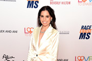 <<enter caption here>> attends the 26th Annual Race to Erase MS Gala at The Beverly Hilton Hotel on May 10, 2019 in Beverly Hills, California.