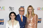 (L-R) Ally Hilfiger, Tommy Hilfiger and Dee Ocleppo attend the 26th annual Race to Erase MS on May 10, 2019 in Beverly Hills, California.
