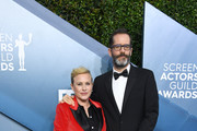 (L-R) Patricia Arquette and Eric White attend the 26th Annual Screen ActorsGuild Awards at The Shrine Auditorium on January 19, 2020 in Los Angeles, California.