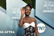 Lupita Nyong'o attends the 26th Annual Screen ActorsGuild Awards at The Shrine Auditorium on January 19, 2020 in Los Angeles, California. 721430