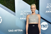Charlize Theron attends the 26th Annual Screen Actors Guild Awards at The Shrine Auditorium on January 19, 2020 in Los Angeles, California. 721430