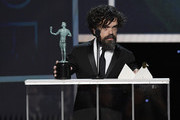 Peter Dinklage accepts Outstanding Performance by a Male Actor in a Drama Series for 'Game of Thrones' onstage during the 26th Annual Screen ActorsGuild Awards at The Shrine Auditorium on January 19, 2020 in Los Angeles, California. 721359