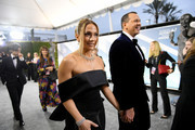 Jennifer Lopez and Alex Rodriguez attend the 26th Annual Screen ActorsGuild Awards at The Shrine Auditorium on January 19, 2020 in Los Angeles, California. 721384