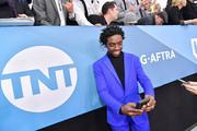 Caleb McLaughlin attends the 26th Annual Screen ActorsGuild Awards at The Shrine Auditorium on January 19, 2020 in Los Angeles, California. 721313