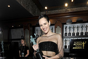 Phoebe Waller-Bridge poses in the trophy room for Best Performance by an Actress in a Television Series - Musical or Comedy during the 26th Annual Screen Actors Guild Awards at The Shrine Auditorium on January 19, 2020 in Los Angeles, California. 721453