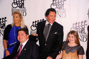 Kathleen McCrone, Marc Buoniconti and Wayne Newton attend the 26th Annual Great Sports Legends Dinner to benefit the Buoniconti Fund To Cure Paralysis at The Waldorf=Astoria on September 26, 2011 in New York City.