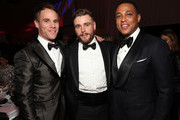 (L-R) Matthew Wilkas, Gus Kenworthy, and Don Lemon attend the 27th annual Elton John AIDS Foundation Academy Awards Viewing Party sponsored by IMDb and Neuro Drinks celebrating EJAF and the 91st Academy Awards on February 24, 2019 in West Hollywood, California.