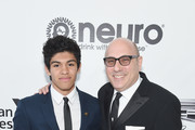 (L-R) Nathan Garson and Willie Garson attend the 27th annual Elton John AIDS Foundation Academy Awards Viewing Party sponsored by IMDb and Neuro Drinks celebrating EJAF and the 91st Academy Awards on February 24, 2019 in West Hollywood, California.