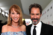 (L-R)Janet Holden and Eric McCormack attends the 27th annual Elton John AIDS Foundation Academy Awards Viewing Party sponsored by IMDb and Neuro Drinks celebrating EJAF and the 91st Academy Awards on February 24, 2019 in West Hollywood, California.