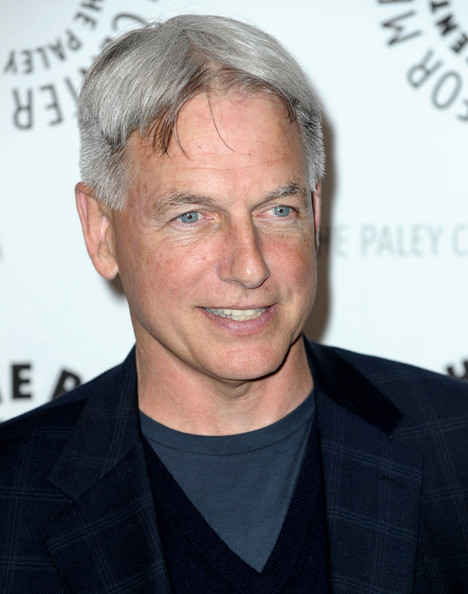 paleyfest presents ncis in this photo mark harmon actor mark harmon
