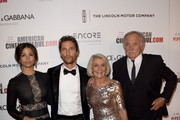 Actor Matthew McConaughey (2nd L) with (L-R) Camila Alves McConaughey, Kay McConaughey and C.J. Carlig attend the 28th American Cinematheque Award honoring Matthew McConaughey at The Beverly Hilton Hotel on October 21, 2014 in Beverly Hills, California.