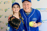 Tegan Marie and Bill Cody arrive at the 28th Annual City of Hope Celebrity Softball Game on June 9, 2018 in Nashville, Tennessee.