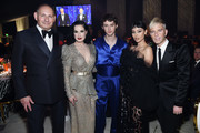 (L-R) John Demsey, Dita Von Teese, Troye Sivan, Alexa Demie and Drew Elliott attend the 28th Annual Elton John AIDS Foundation Academy Awards Viewing Party sponsored by IMDb, Neuro Drinks and Walmart on February 09, 2020 in West Hollywood, California.
