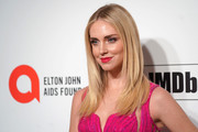 Chiara Ferragni attends the 28th Annual Elton John AIDS Foundation Academy Awards Viewing Party sponsored by IMDb, Neuro Drinks and Walmart on February 09, 2020 in West Hollywood, California.