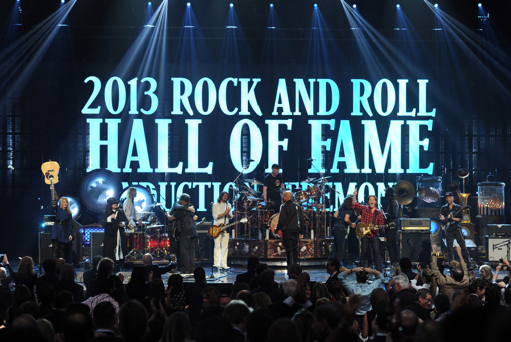 rock and roll hall of fame induction ceremony zimbio. Black Bedroom Furniture Sets. Home Design Ideas