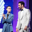 Nyle DiMarco and Asia Kate Dillon Photos