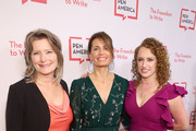 (L-R)  Jennifer Egan, Susannah Grant and Suzanne Nossel attend the 29th Annual PEN America LitFestGala at Regent Beverly Wilshire Hotel on November 01, 2019 in Beverly Hills, California.