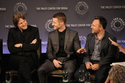 "(L-R) Donal Logue, Ben McKenzie and Danny Cannon attend the 2nd annual Paleyfest New York Presents: ""Gotham"" at Paley Center For Media on October 18, 2014 in New York, New York."