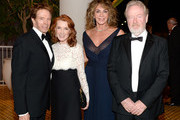 (L-R) Producer Jerry Bruckheimer, Linda Bruckheimer, producer Giannina Scott, and honoree Sir Ridley Scott attend the 30th Annual American Cinematheque Awards Gala at The Beverly Hilton Hotel on October 14, 2016 in Beverly Hills, California.